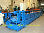 Best ISO / CE Approved Metal Ridge Cap Tile Roll Forming Machine Production Line High Speed for sale
