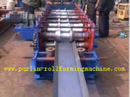 Best Galvanized Automatic Seamless Gutter Machine , Rain Gutter Roll Forming Machinery for sale