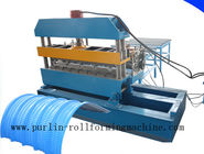 Best 7.5KW Hydraulic Bending Machine / Pipe Rolling Machinery For 0.7mm - 1.5mm Cable Tray for sale