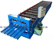 Best Professional Steel Metal Sheet Cold Roll Forming Machine , Roof Panel Roll Former 5 Ton for sale