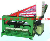 Best Automatic Rock Wood / EPS Sandwich Panel Roll Forming Machine , Roof Tile Production Line for sale