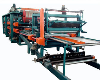 چین Double Belt PU Sandwich Panel Making Machine Automatic For Roof Wall Panel کارخانه