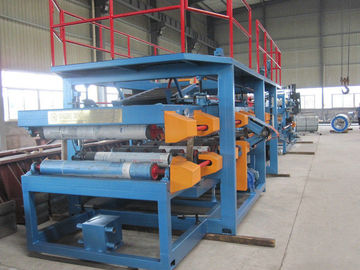 چین 1250mm Width EPS Sandwich Panel Roll Forming Machine 28Kw for Warehouse​ توزیع کننده